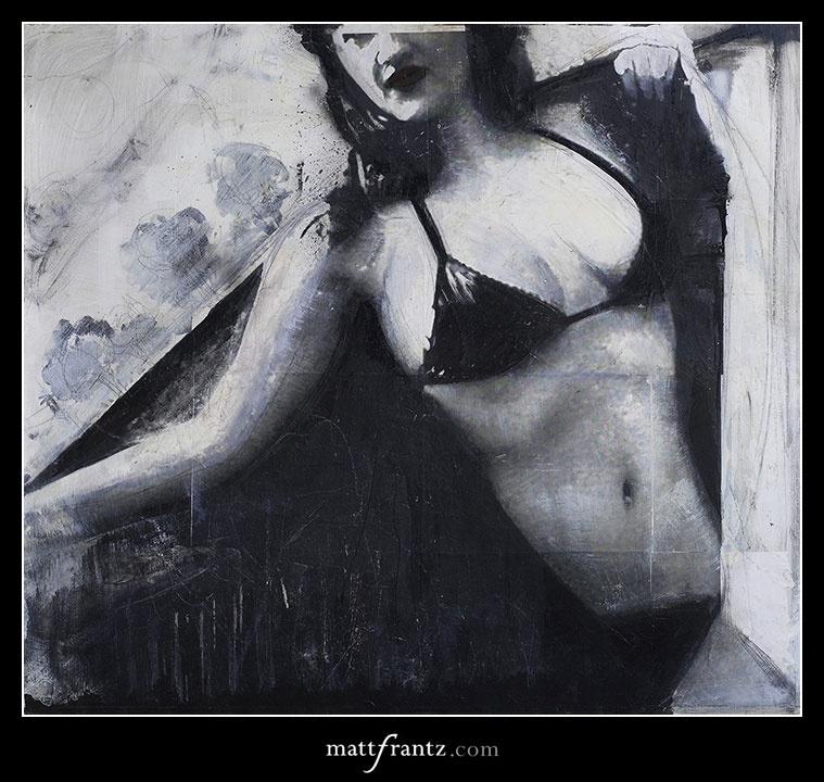 photography and painting by Matt Frantz