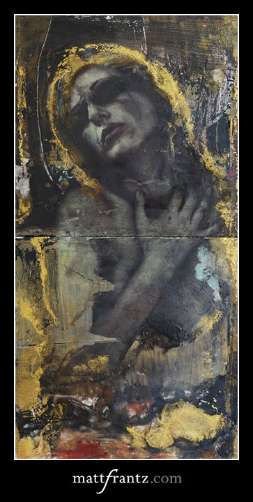 encaustic by Matt Frantz