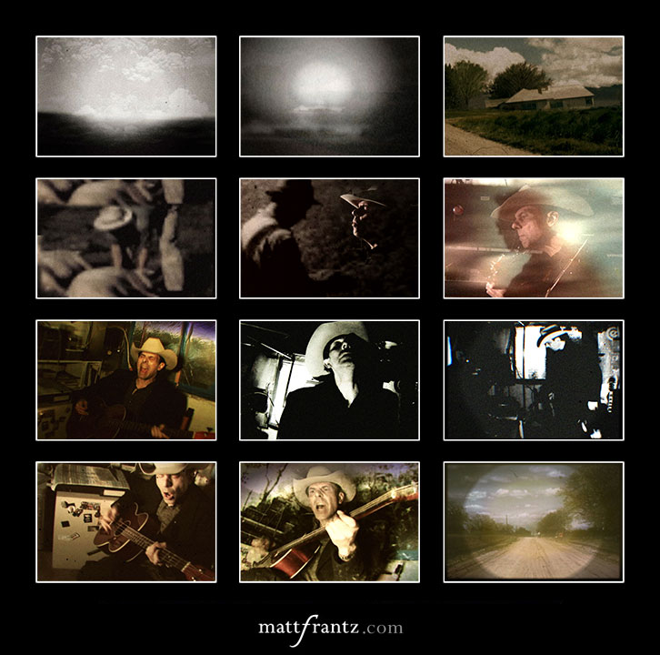 still frames of paul k music video by matt frantz
