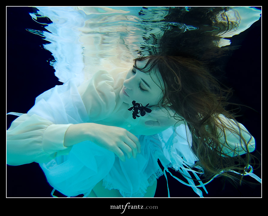 underwater photo art by Matt Frantz